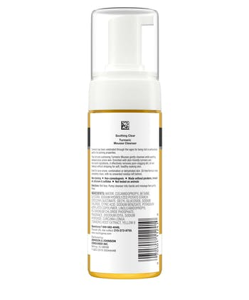 Neutrogena Soothing Clear Turmeric Mousse Cleanser