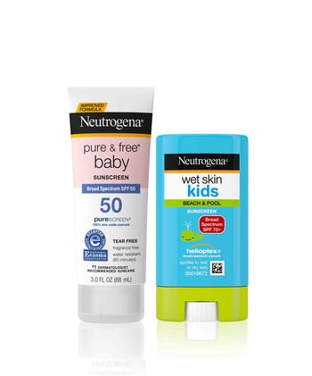 Kids Sunscreen Set
