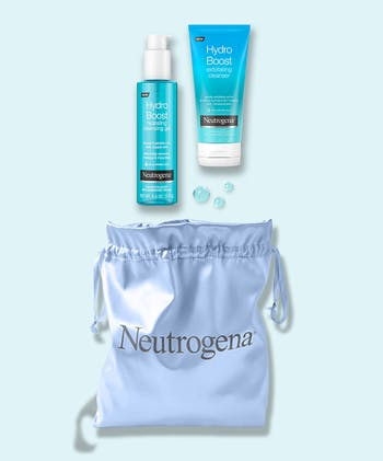 Hydro Boost Cleanse & Exfoliate Double Cleansing Set