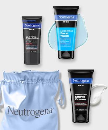 Men's Skin Care Essentials Set