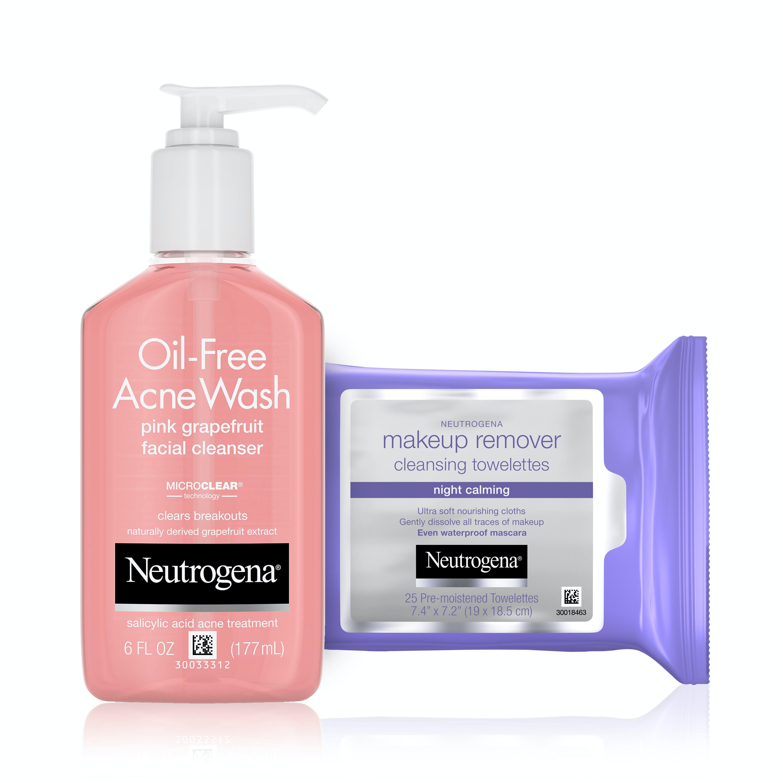 neutrogena anti acne face wash
