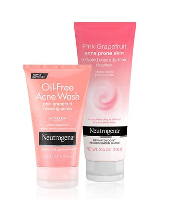 Pink Grapefruit Double Cleansing Set