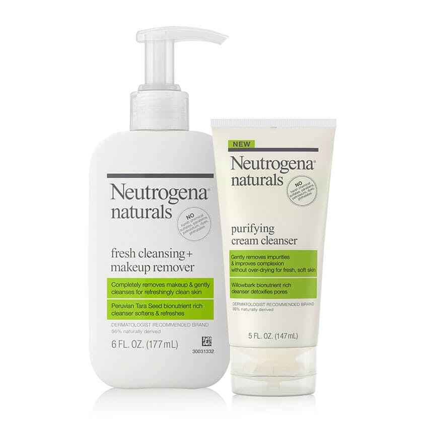 Naturals Fresh & Purifying Double Cleansing Set