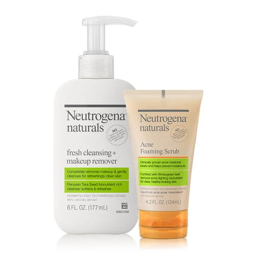 Naturals Acne Double Cleansing Set