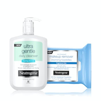 Sensitive Skin Double Cleansing Set